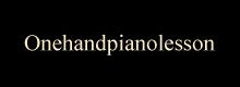 onehandpianolesson